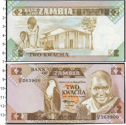 Картинка Банкноты Замбия 2 квачи  0