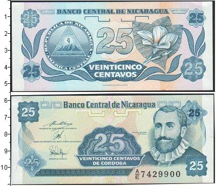 Картинка Боны Никарагуа 25 кордоба  0