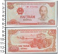 Изображение Банкноты Вьетнам 200 донг 1987  UNC
