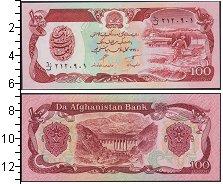 Изображение Банкноты Афганистан 100 афгани 1369  UNC