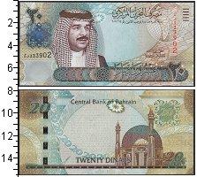 Изображение Банкноты Бахрейн 20 динар 0  UNC