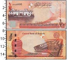 Изображение Банкноты Бахрейн 1/2 динара 2006  UNC