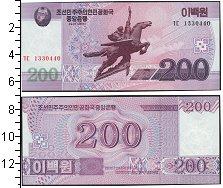 Изображение Банкноты Северная Корея 200 вон 2008  UNC