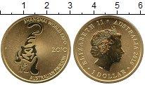 Набор монет Австралия 1 доллар Латунь 2010 UNC