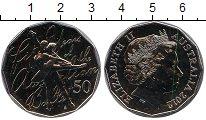 Изображение Мелочь Австралия 50 центов 2012 Медно-никель UNC-