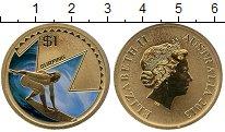 Изображение Мелочь Австралия 1 доллар 2013  UNC- Елизавета II. Серфин