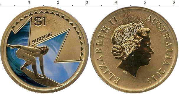 Картинка Мелочь Австралия 1 доллар  2013