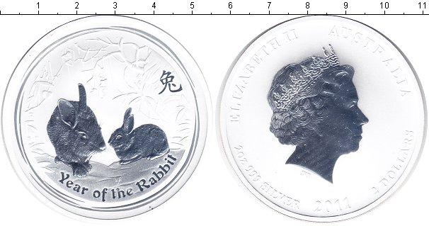 Картинка Мелочь Австралия 2 доллара Серебро 2011