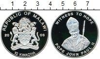 Изображение Монеты Малави 10 квач 2003  Proof- Папа Иоанн II