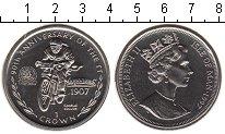 Изображение Монеты Остров Мэн 1 крона 1997 Медно-никель UNC- Елизавета II.