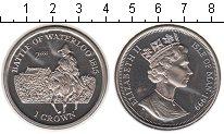Изображение Монеты Остров Мэн 1 крона 1999 Медно-никель UNC- Елизавета II. Битва