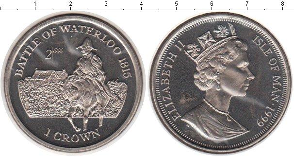 Картинка Монеты Остров Мэн 1 крона Медно-никель 1999