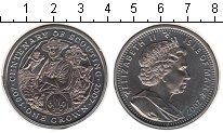 Изображение Монеты Остров Мэн 1 крона 2007 Медно-никель UNC- Елизавета II.
