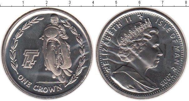 Картинка Монеты Остров Мэн 1 крона Медно-никель 2005