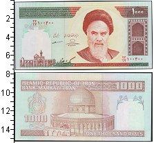 Изображение Банкноты Иран 1000 риалов 0  UNC