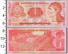Изображение Боны Гондурас 1 лемпира 2010  UNC