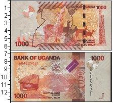 Изображение Банкноты Уганда 10 франков 2013  UNC