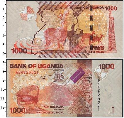 Картинка Боны Уганда 1.000 шиллингов  2013