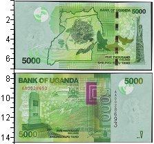 Изображение Банкноты Уганда 5000 шиллингов 2013  UNC