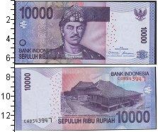"""Изображение Боны Индонезия 10000 рупий 2010  UNC <font face=""""arial, s"""