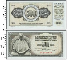 Изображение Боны Югославия 500 динар 1978  UNC