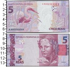 Изображение Боны Бразилия 5 реалов 2010  UNC