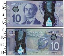 Изображение Банкноты Канада 10 долларов 2013  UNC