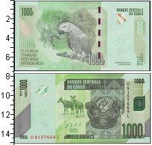 Изображение Банкноты Конго 1000 франков 2013  UNC