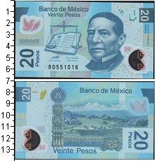 Изображение Банкноты Мексика 20 песо 2011  UNC