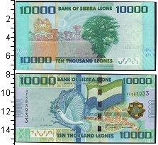 Изображение Банкноты Сьерра-Леоне 10000 леоне 2010  UNC