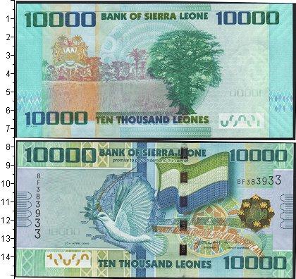 Картинка Боны Сьерра-Леоне 10.000 леоне  2010