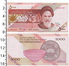 Изображение Боны Иран 5000 риалов 0  UNC