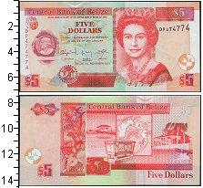 Изображение Боны Белиз 5 долларов 2011  UNC