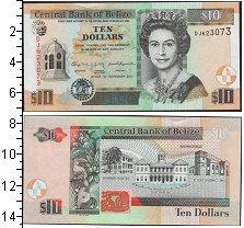 Изображение Банкноты Белиз 10 долларов 2011  UNC