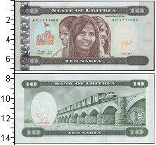 Изображение Банкноты Эритрея 10 накфа 1997  UNC