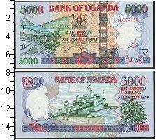Изображение Боны Уганда 5000 шиллингов 2009  UNC /