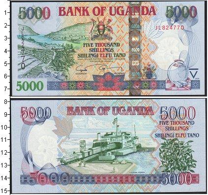 Картинка Боны Уганда 5.000 шиллингов  2009