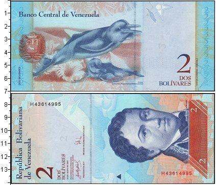 Картинка Боны Венесуэла 2 боливара  2007
