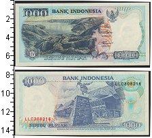 Изображение Банкноты Индонезия 1000 рупий 1992  UNC