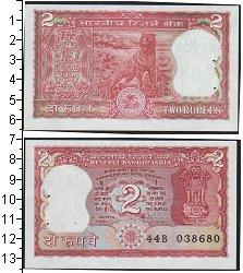 Изображение Боны Индия 2 рупии 0  UNC