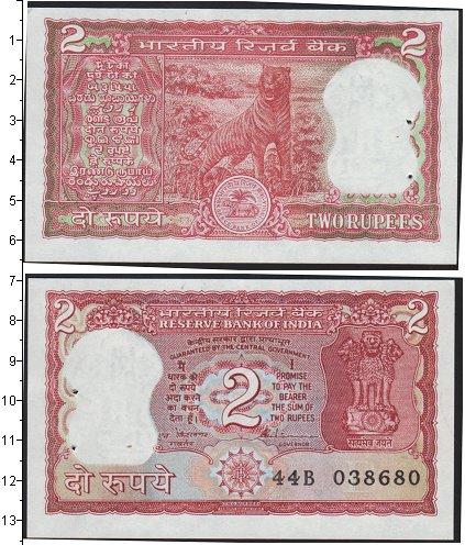 Картинка Банкноты Индия 2 рупии  0