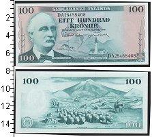 Изображение Банкноты Исландия 100 крон 1961  UNC