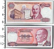 Изображение Банкноты Турция 100 лир 0  UNC