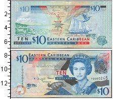 Изображение Боны Карибы 10 долларов 0  UNC