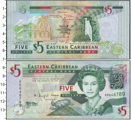 Картинка Боны Карибы 5 долларов  0