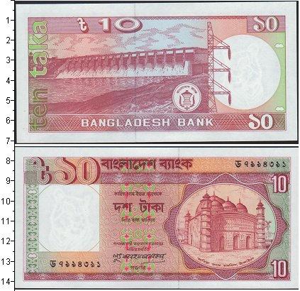 Картинка Банкноты Бангладеш 10 така  0