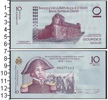Изображение Боны Гаити 10 гурдов 2004  UNC