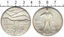 Изображение Монеты Финляндия 25 марок 1978 Серебро Proof