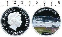 Изображение Монеты Австралия 1 доллар 2008 Серебро Proof- Австралия