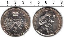 Изображение Монеты Великобритания 5 фунтов 1997 Медно-никель UNC
